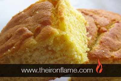 Dutch Oven Sweet Honey Corn Bread Recipe